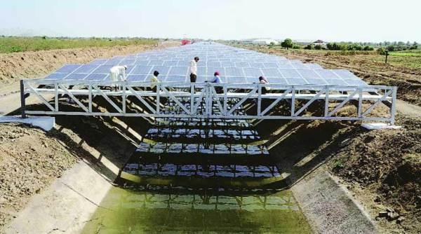solar canal top